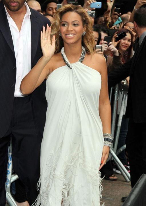 Beyoncé chez Macy's, à New-York, le 22 septembre 2011