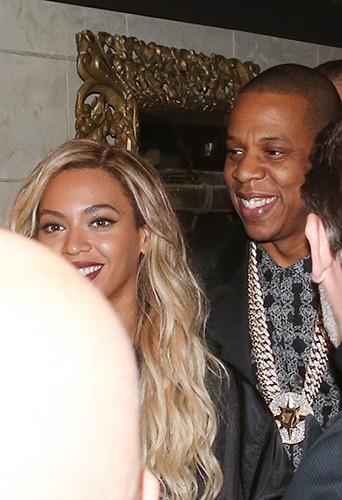 Beyoncé à Londres le 1er mars 2014