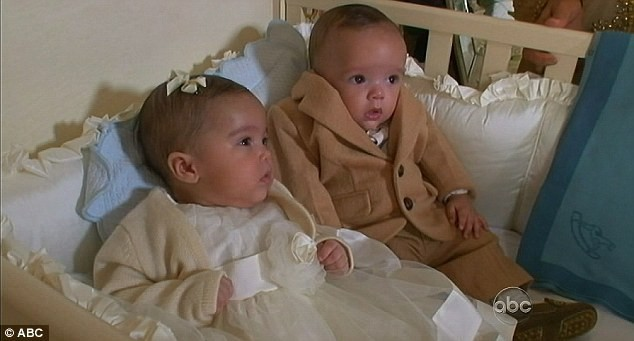 Monroe et Moroccan, les jumeaux de Mariah Carey et Nick Cannon
