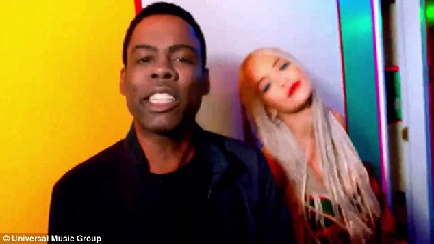 Rita Ora et Chris Rock