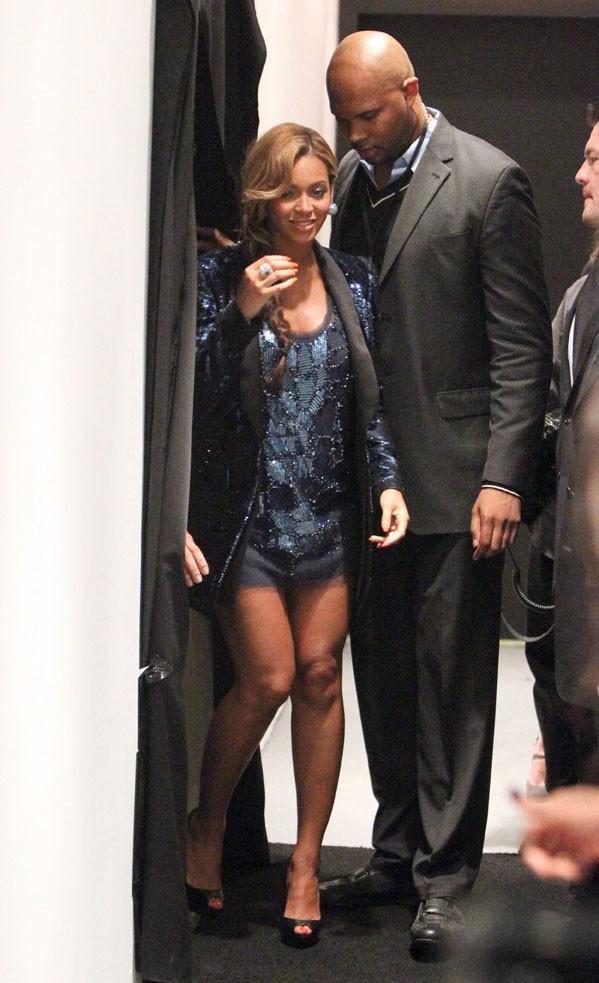 Beyoncé à New-York pour le lancement de son nouveau parfum !