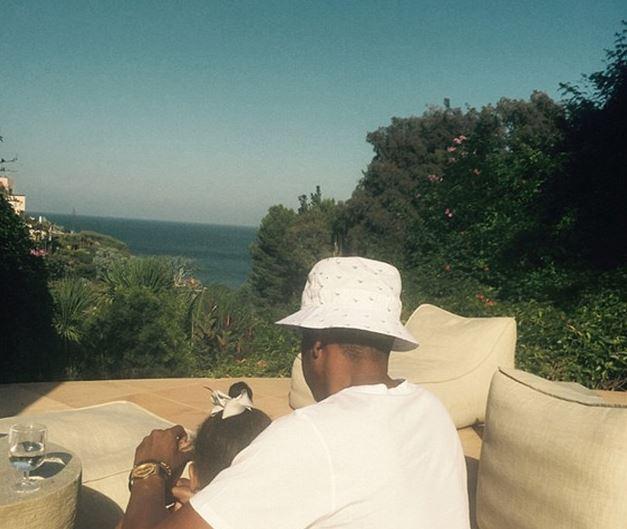 Beyoncé en vacances