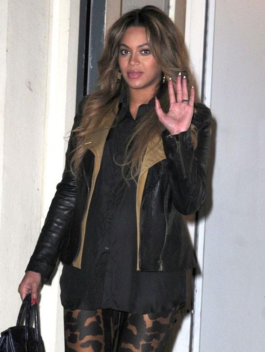 Sympa Beyoncé, mais visiblement fatiguée