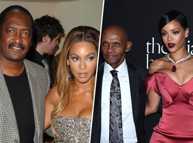 Beyoncé, Rihanna... Les stars et leurs pères