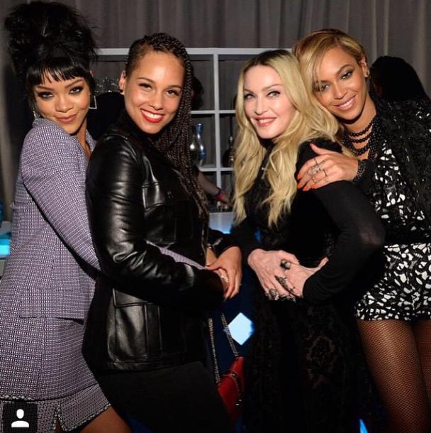 Photos : Beyoncé, Rihanna, Madonna, Alicia Keys…Toutes à fond pour le projet TIDAL !