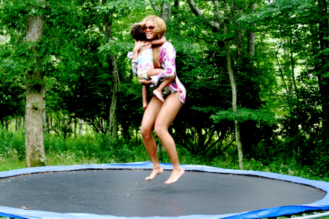 Photos : Beyoncé : sexy, stylée mais surtout heureuse aux côtés de Blue Ivy et Jay-Z… Les clichés du bonheur retrouvé !