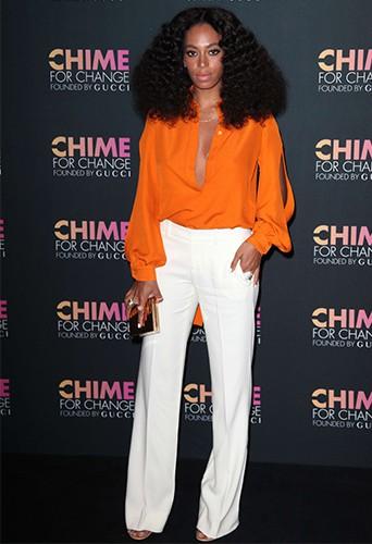 """Solange Knowles fête les 1 an de la campagne internationale """"Chime for Change"""" !"""