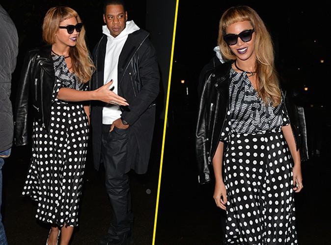 Beyonc� : super styl�e pour une nouvelle balade nocturne avec Jay-Z !