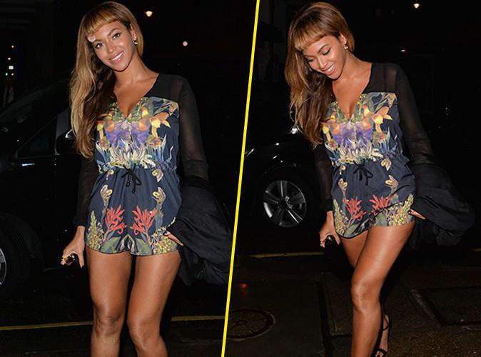 Beyonc� : terriblement sexy pour une soir�e avec Adele et Jay-Z !