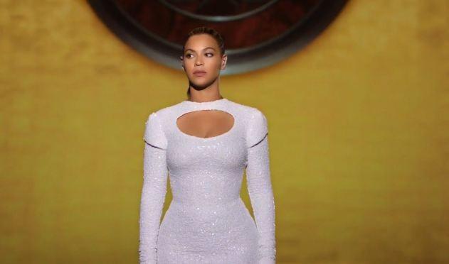 Beyoncé dans le clip I Was Here