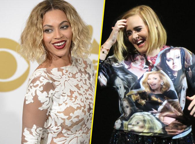 Beyoncé vs Adele : qui sera la reine des Grammy Awards ?