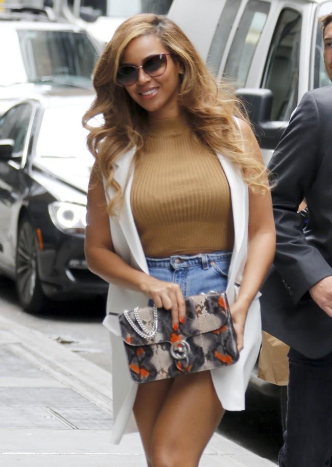 Beyoncé à New-York le 14 juillet 2015