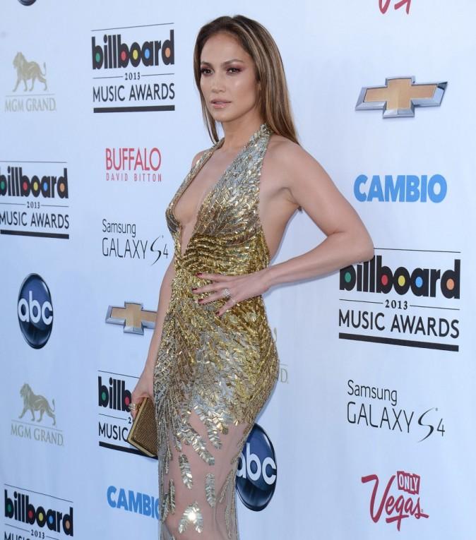 Jennifer Lopez lors de la cérémonie des Billboard Music Awards à Las Vegas, le 19 mai 2013.