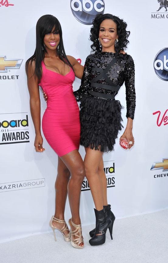 Kelly Rowland et Michelle Williams, ravies d'être de la fête !
