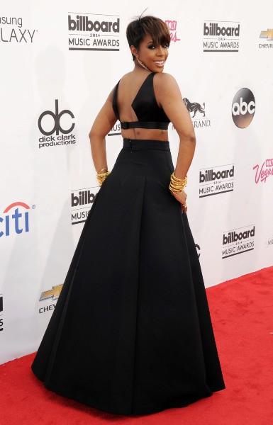 Kelly Rowland lors de la soirée des Billboard Music Awards à Las Vegas, le 18 mai 2014.