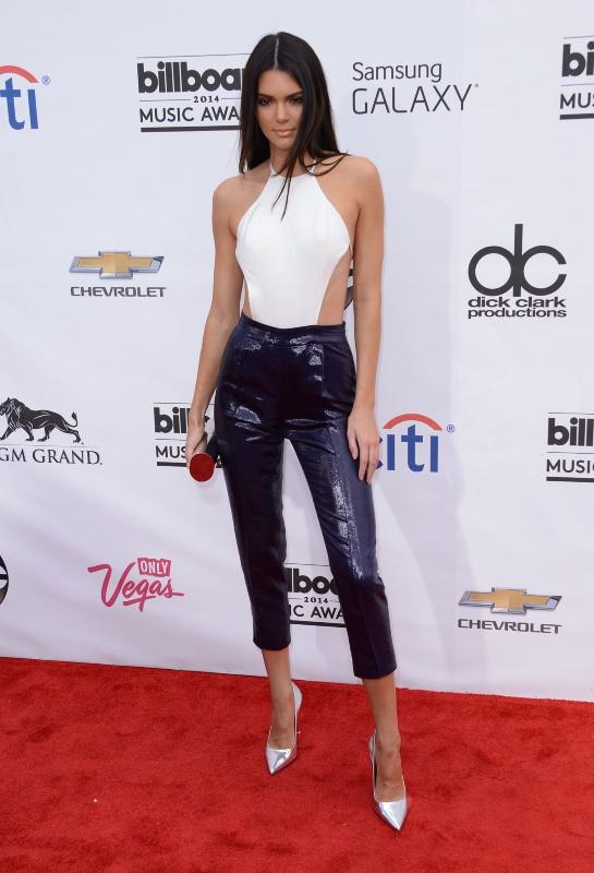Kendall Jenner lors de la cérémonie des Billboard Music Awards à Las Vegas, le 18 mai 2014.