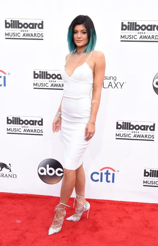 Kylie Jenner lors de la cérémonie des Billboard Music Awards à Las Vegas, le 18 mai 2014.