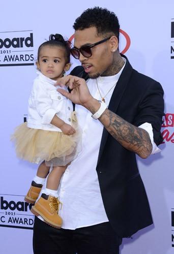Billboard Music Awards 2015 : Chris Brown : premier tapis rouge avec Royalty !