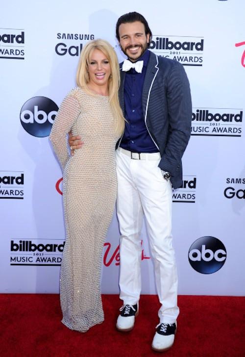 Britney Spears lors des Billboard Music Awards, à Las Vegas, le 17 mai 2015