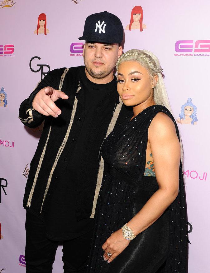 """Blac Chyna et Rob Kardashian pour """"Chymoji"""""""