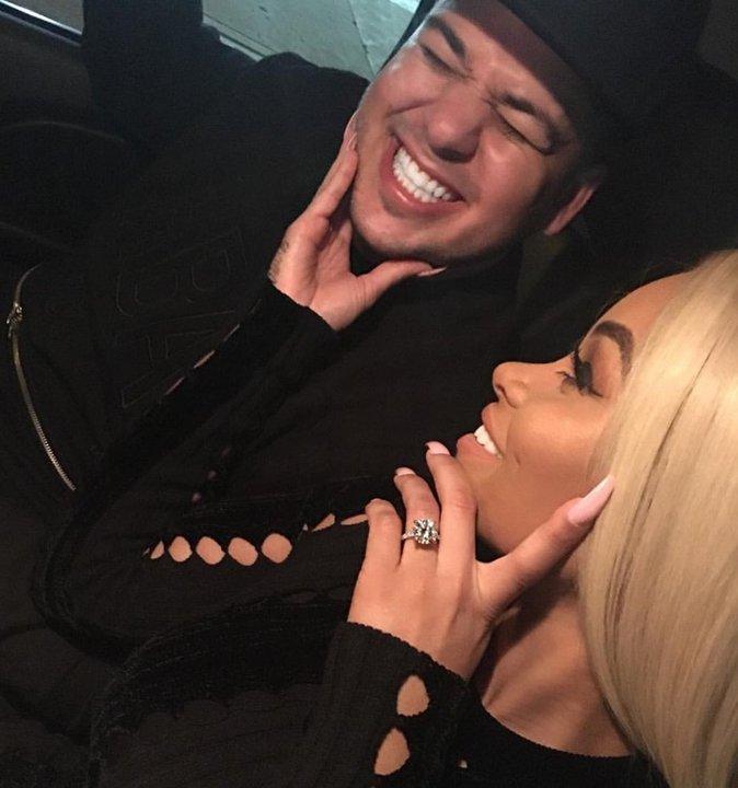 Blac Chyna dit OUI à Rob Kardashian