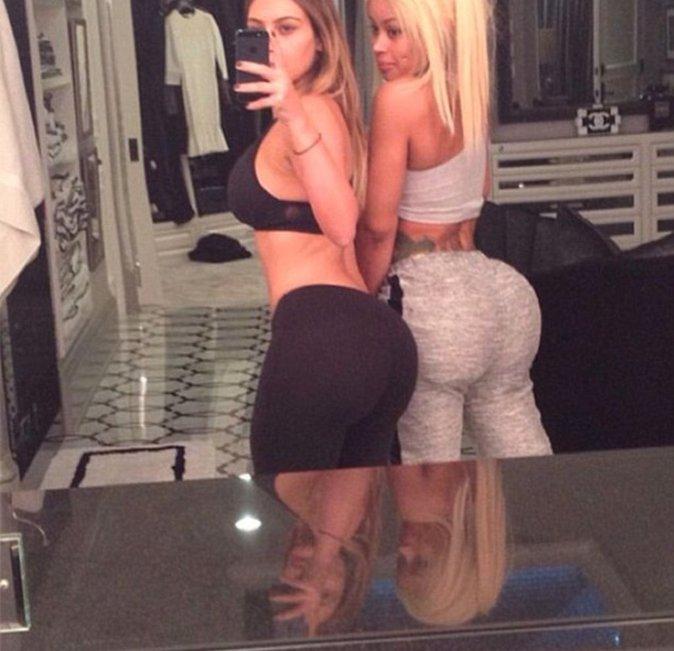 Kim Kardashian et Blac Chyna sont BFF