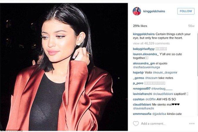 La déclaration de Tyga envers Kylie