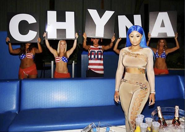Blac Chyna le 5 septembre 2015