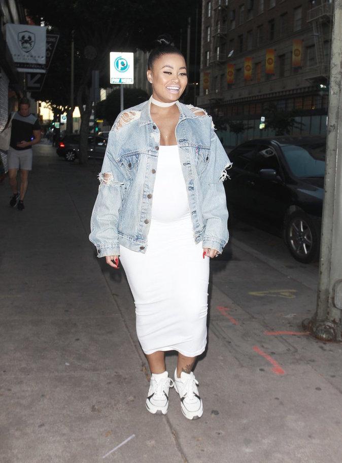 Blac Chyna à Los Angeles le 24 septembre 2016