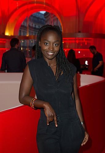 Aïssa Maïga à Paris le 22 septembre 2014