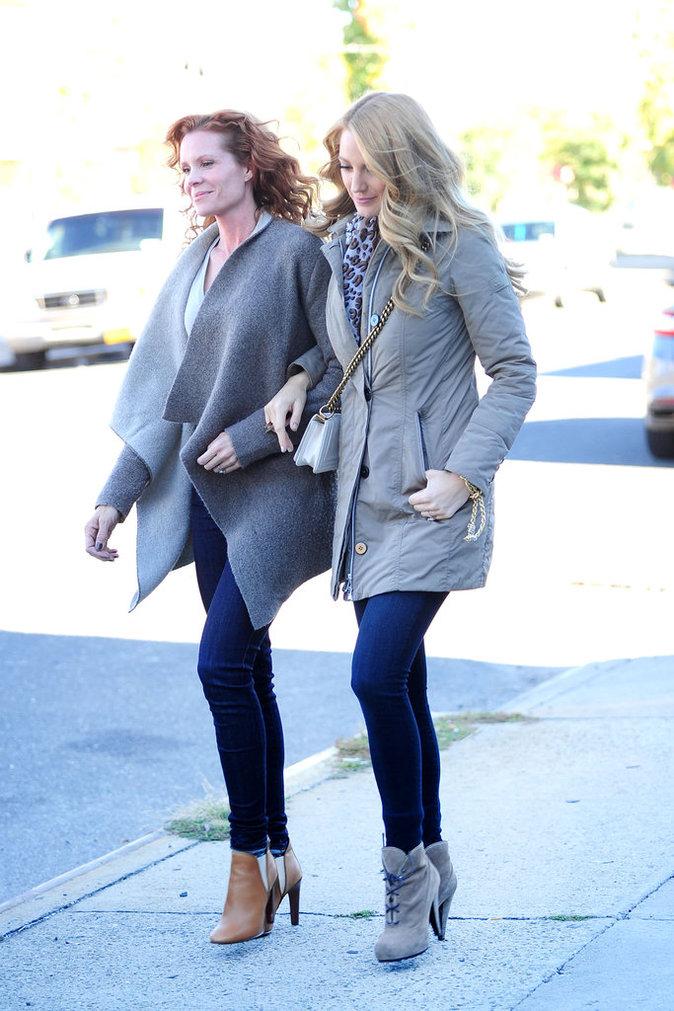 Blake et Robyn Lively le 19 octobre 2015
