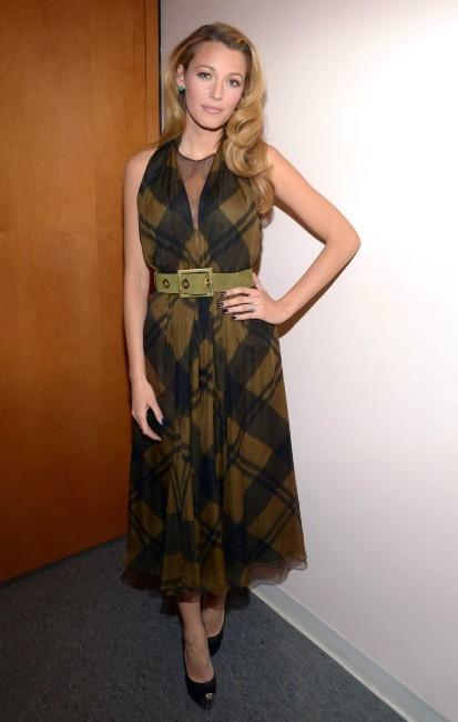 Blake Lively le 6 mars 2013 à New York