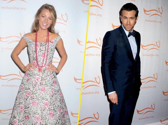 Blake Lively et Ryan Reynolds au gala de charité organisé par Michael J. Fox à New-York le 9 novembre 2013