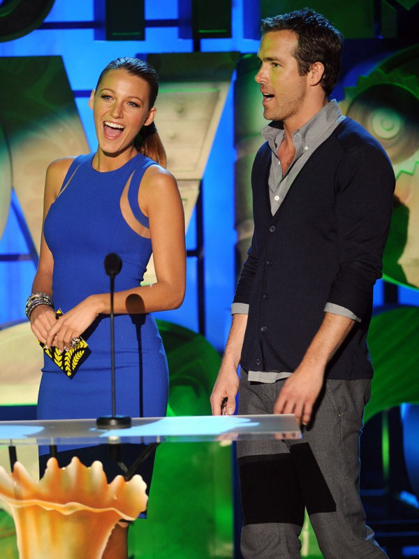 Blake Lively et Ryan Reynolds aux MTV Music Awards (2011)