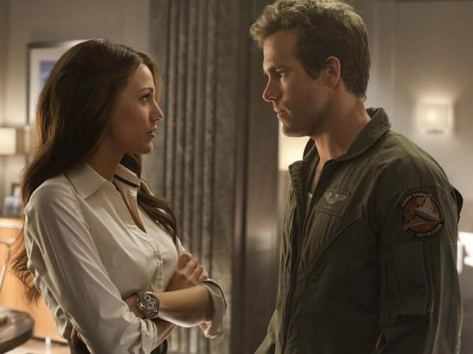 Blake Lively et Ryan Reynolds dans Green Lantern (2011)