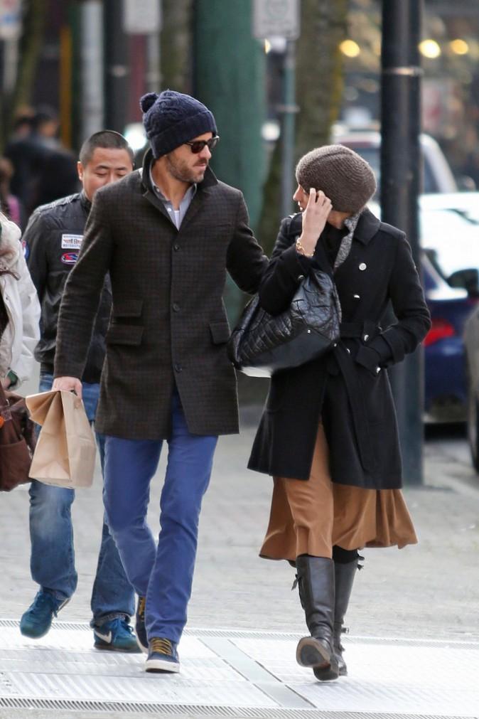 Blake Lively et Ryan Reynolds : un couple toujours aussi discret en vir�e � Vancouver !