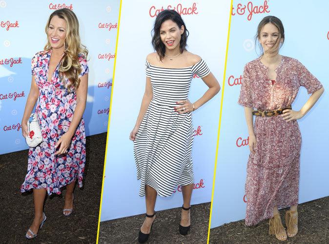 Blake Lively jolie comme une fleur, elle s'éclate avec Rachel Bilson et Jenna Dewan à l'événement Target