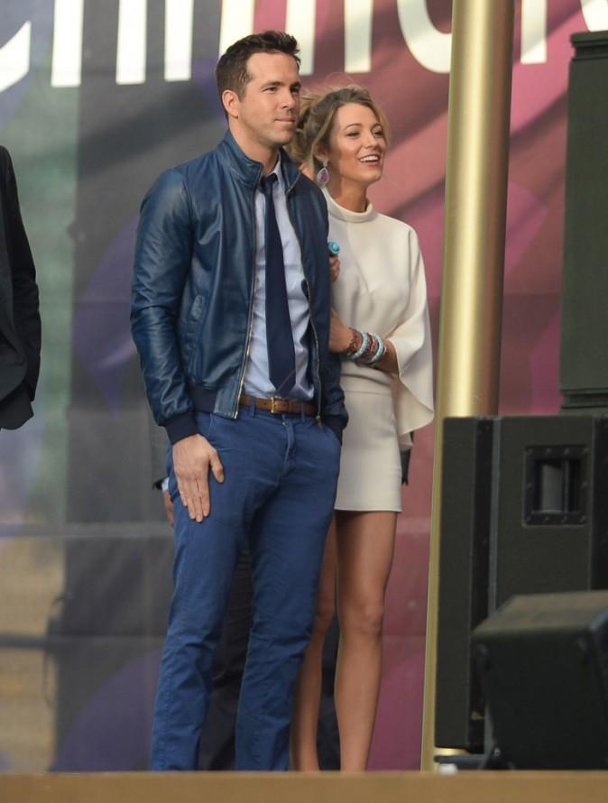 """Blake Lively et Ryan Reynolds lors du concert """"Chime For Change : The Sound Of Change Live Concert"""" à Londres, le 1er juin 2013."""