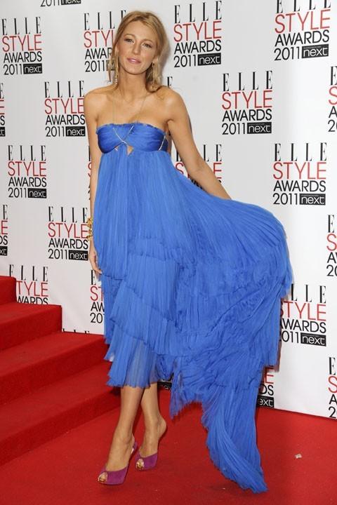 Blake Lively lors de la soirée des Elle Style Awards 2011 à Londres, le 14 février 2011.