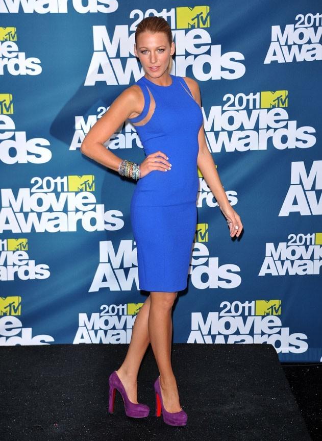 Blake Lively lors des MTV Movie Awards 2011 à Los Angeles, le 5 juin 2011.