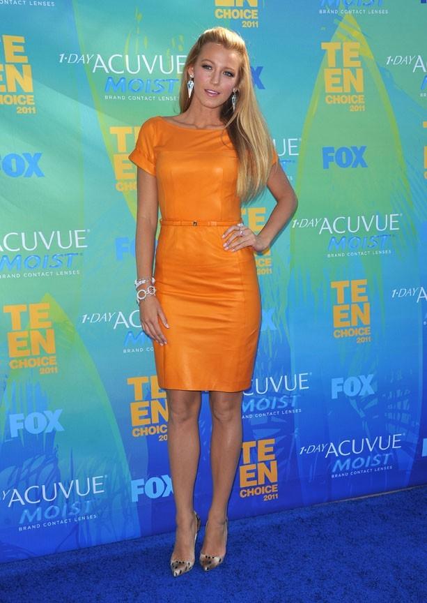 Blake Lively lors des Teen Choice Awards 2011 à Los Angeles, le 7 août 2011.