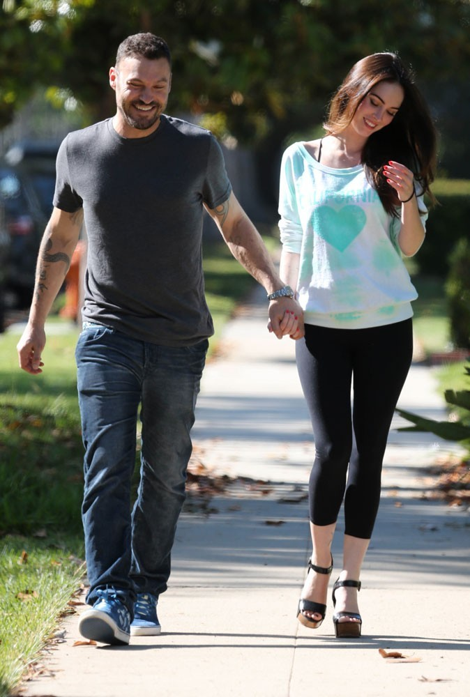 Photos : le mariage secret de Megan Fox et Brian Austin Green
