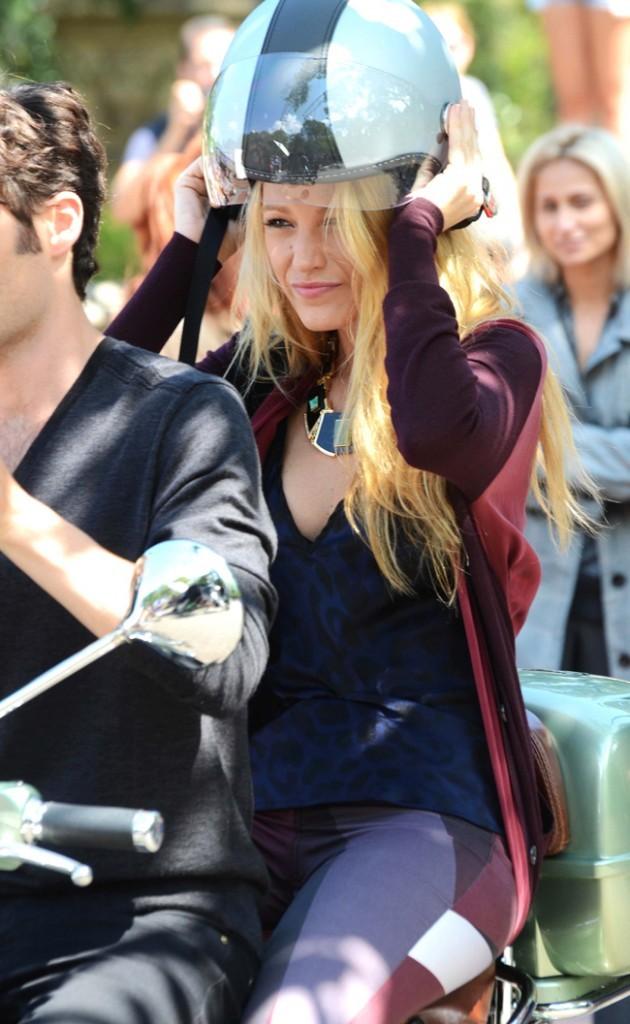 Blake Lively le 28 août 2012 à New York
