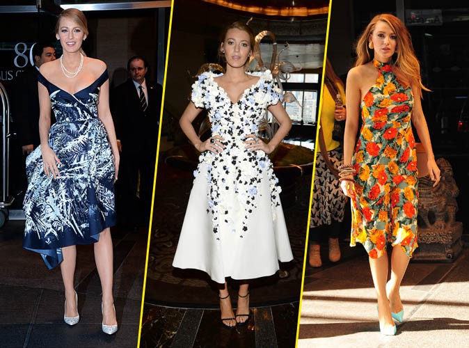 Blake Lively : un vrai cam�l�on � New York !