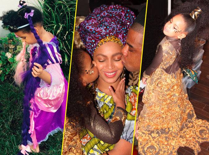 Blue Ivy attendrissante comme jamais aux c�t�s de Beyonc� et Jay-Z !