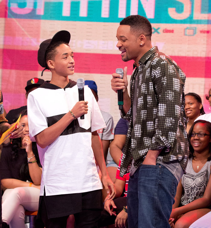 Will et Jaden Smith