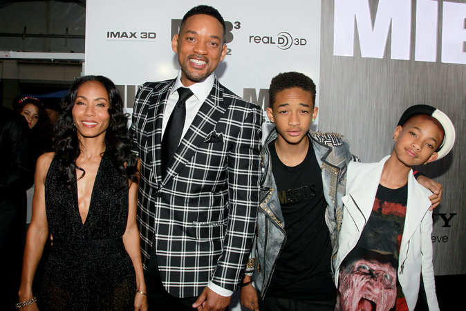 Will, Jada, Jaden et Willow Smith
