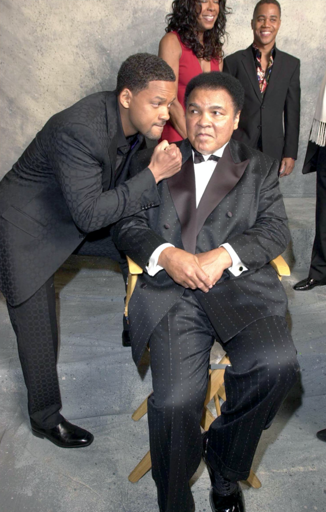 Will Smith et Mohamed Ali
