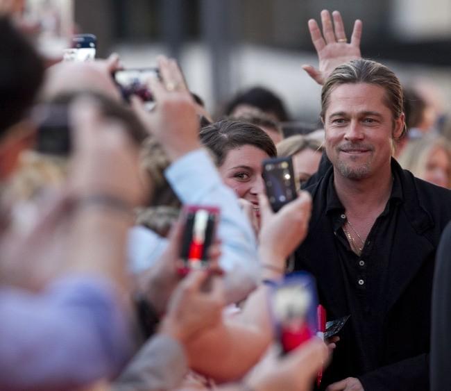 Brad Pitt lors de la première du film World War Z à Sydney , le 9 juin 2013.