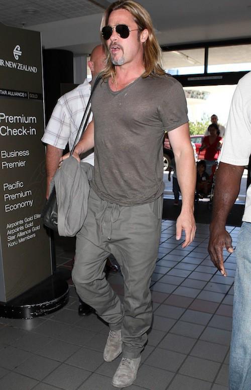 Photos : Brad Pitt : c'est quoi ce look de viking ?